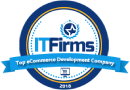 Top eCommerce Development Company award by IT Firms
