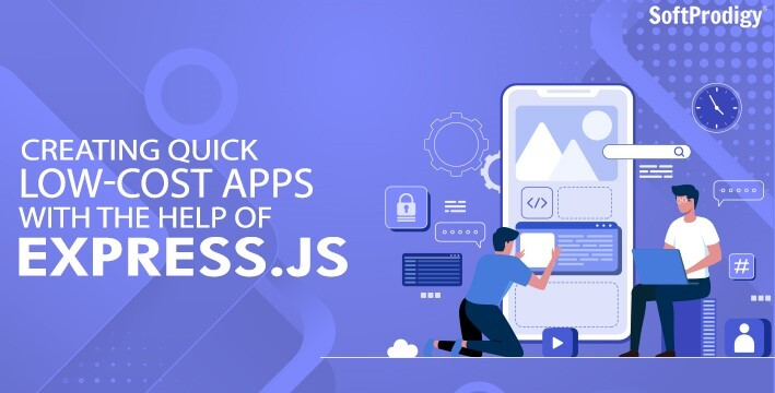 Creating quick low cost apps with the help of Express.JS