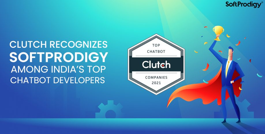 Clutch Recognizes SoftProdigy Among India's Top Chatbot Developers