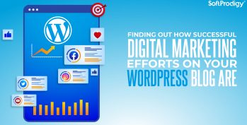 Finding out how successful digital marketing efforts on your WordPress blog are.
